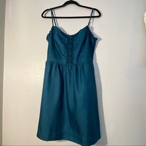 American Eagle Navy Corset Skater dress | 16
